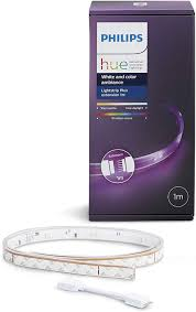 Philips Hue Shape Light Extension Philips Hue Lightstrip Extension 1 M White And Colour Ambiance Smart Led Kit Works With Alexa Google Assistant And Apple Homekit