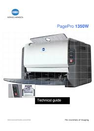 Find everything from driver to manuals of all of our bizhub or download the latest drivers, manuals and software for your konica minolta device. Konica Minolta Pagepro 1350w Technical Manual Pdf Download Manualslib