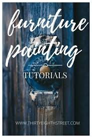 furniture chalk paintPainting Furniture Tutorials  Resources  Thirty Eighth Street