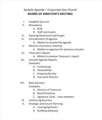 School Staff Meeting Agenda Template Minute Format Sample Minutes