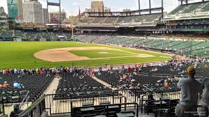 seat view for comerica park terrace 136