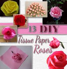 Tissue Paper Flower How To Make 13 Diy Tissue Paper Roses Guide Patterns