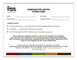 donor pledge card