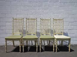 bamboo dining chairs. Chairs Faux Bamboo Dining Set Of Seating Hollywood Regency Chinese Chippendale 1