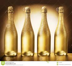 Champagne Bottle Decoration Champagne Bottles With Glass And Wedding Decoration Of Flower Ar