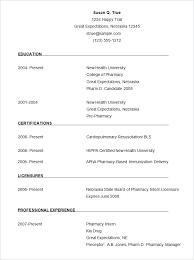 Sample Resume Format Free Download – Takahiro.info