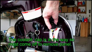 vespa glove box repair