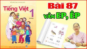 Tiếng Việt Lớp 1 Bài 87 Đánh Vần - Dạy Bé Học Bảng Chữ Cái Tiếng Việt -  YouTube