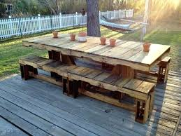patio furniture pallets pallet dining table diy patio furniture made from pallets