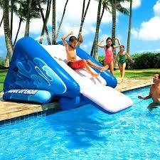 diy pool slide swimming pool slides inflatable pool slides for pools optimizing home decor ideas inflatable