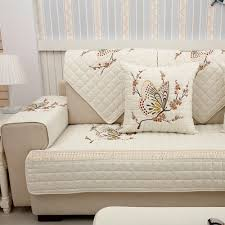 3 seat t cushion sofa slipcover luxury embroidered erfly sofa covers non slip quilted corner