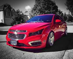 Lowered Red Chevy Cruze | Cruze help | Pinterest | Cars, Chevrolet ...
