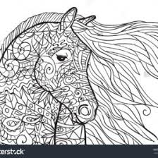 Capricious Detailed Horse Coloring Pages For Adults Ideal Coloring