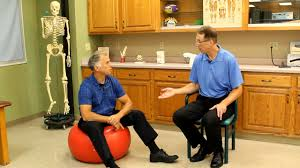The Correct Sizing Or Size For An Exercise Ball Physioball Or Swissball