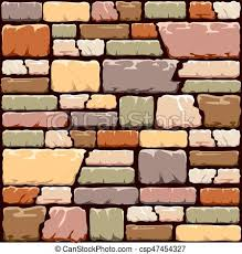 colourful stone wall background in warm tones of yellow brown pink and green eps10 vector format  on stone wall artwork with colourful stone wall background in warm tones of yellow brown pink