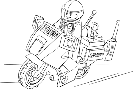 Dessin Lego Police Coloriages Store