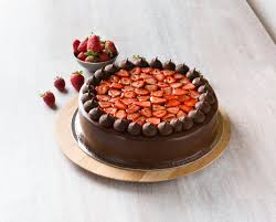 send chocolate strawberry cake to melbourne australia