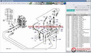kubota tractors construction utility vehicle spare parts