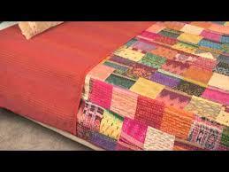 Cheap Knitted Cotton Warp Quilt, find Knitted Cotton Warp Quilt ... & ... Vintage Throw Kantha Quilt Indian Handmade Cotton Bedspread Reversible Adamdwight.com