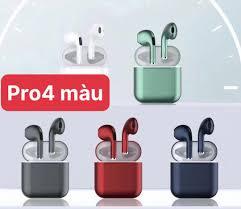 Tai Nghe Bluetooth Pro 4 Kim Loại 5.0