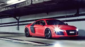 audi r8 wallpaper black and red. Plain Audi Red Audi R8 On Wallpaper Black And D