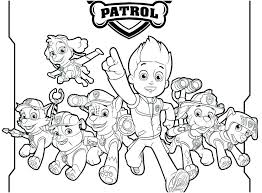 Paw Patrol Coloring Sheets Chase Coloring Free Paw Patrol Coloring