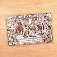 enlace a la publicación how to carve leather de al stohlman
