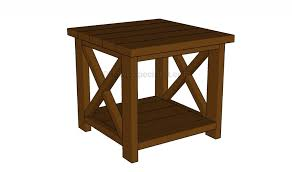 end table plans howtospecialist how to build step step diy plans rh nineteenthirtynine net diy rustic end table plans diy outdoor end table plans