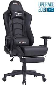 ergonomic computer chair amazon.  Amazon Ficmax Ergonomic Gaming Chair Racing Style Office Recliner Computer  PU Leather HighBack Inside Amazon