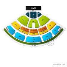 Jiffy Lube Live 2019 Seating Chart