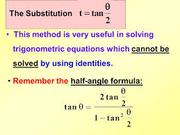 3 the substitution