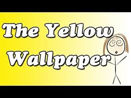why does john faint at the end of quotthe yellow wallpaperquot  enotes