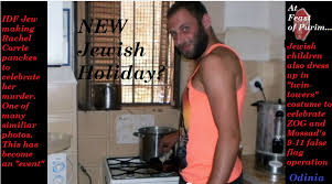 The New Jewish Hate Holiday... Rachel Corrie Vitriol, Haman, and ... via Relatably.com