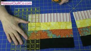 Fence Rail Quilting Block - Beginner Block Quilting Series - YouTube &  Adamdwight.com