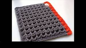 Crochet Potholder Patterns Cool Easy Crochet Potholders YouTube