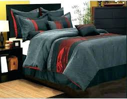 black comforter set red all purple gray bedding sets and white canada full size
