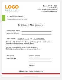 Project Completion Certificate Templates Word Excel