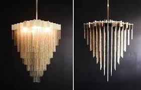 gold fringeelier gallery uk chain earrings with black shades modern lighting fringe chandelier foil home depot