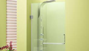bathtub walls bathroom partition glass