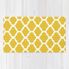 moroccan pattern area rug mustard yellow and white modern moroccan pattern rug uk