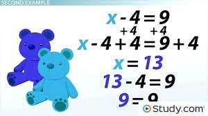 algebra solver math solving equations using the addition principle lesson transcript college algebra math calculator