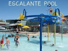 pool splash. Escalante Outdoor Pool 2150 E. Orange St. \u2022 480-350-5204 Splash