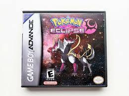 Pokemon Eclipse Game Boy Advance GBA & Custom Case Fan Hack English (USA) -  Games - Ideas of Games #games - Pokemon Eclipse Game…   Pokemon firered,  Pokemon, Gba