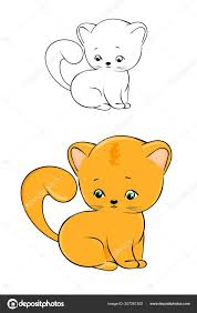 Coloring Pages 41 Cute Kitten Coloring Picture Inspirations Cute