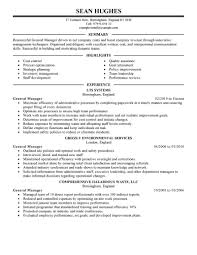 Free General Resume Template 100 Images General Resume