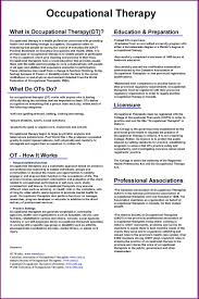 Occupational Therapy Resume Unique Lovely Occupational Therapy Essay Ot Resume Twenty Hueandi Co Best