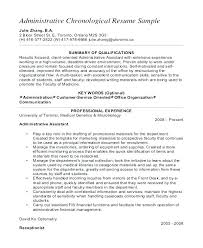 Resume Templates For Administrative Positions Custom Pic Administrative Assistant Template Resume For Cv Microsoft Word