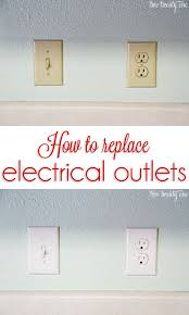 how to replace electrical outlets diy electrical how to replace electrical outlets diy electrical outlets home and diy