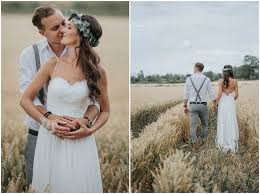 nils and jenni s beautifully simple diy bohemian barn wedding by photo design