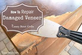 repairing veneer table top sydney
